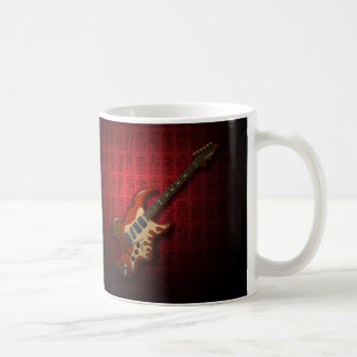 KuuMa Guitar 01 (R) Basic White Mug