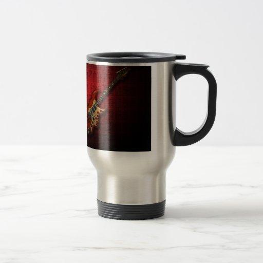 KuuMa Guitar 01 (R) Coffee Mugs