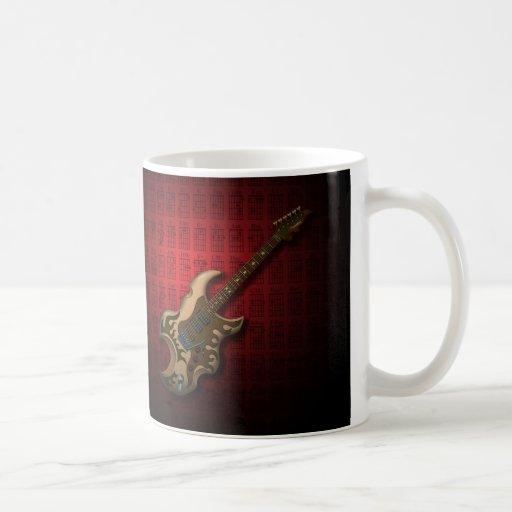 KuuMa Guitar 04 (R) Coffee Mugs