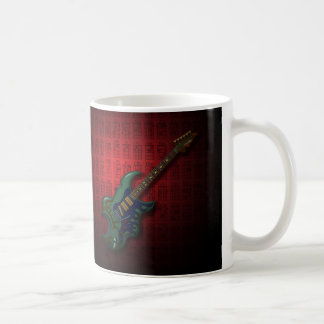 KuuMa Guitar 05 (R) Basic White Mug