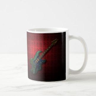 KuuMa Guitar 05 (R) Basic White Mug