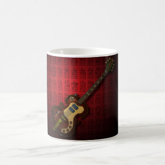 KuuMa Guitar 06 (R) Basic White Mug