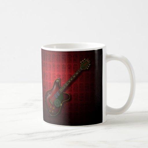 KuuMa Guitar 08 (R) Coffee Mugs