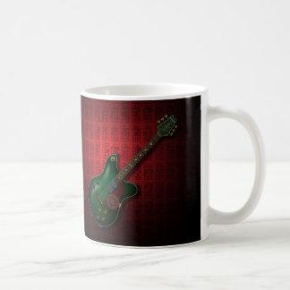 KuuMa Guitar 09 (R) Basic White Mug