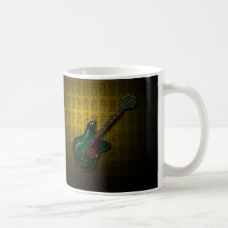KuuMa Guitar 09 (Y) Basic White Mug