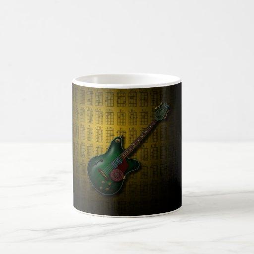 KuuMa Guitar 09 (Y) Mugs