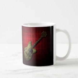 KuuMa Guitar 10 (R) Basic White Mug