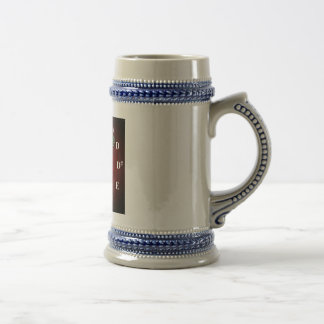 KuuMa Guitar Clock Beer Stein