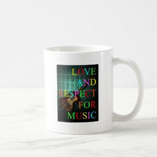 KuuMa Guitar Love 06 Basic White Mug