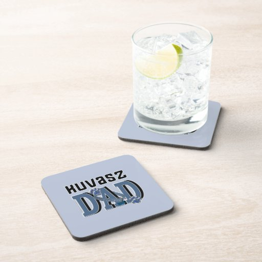 Kuvasz DAD Beverage Coasters