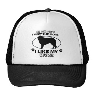 Kuvasz designs and gifts cap