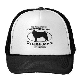 Kuvasz designs and gifts trucker hat