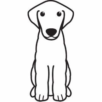 Kuvasz Dog Cartoon Standing Photo Sculpture