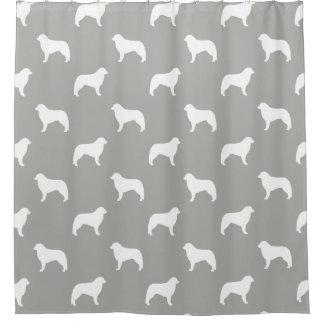 Kuvasz Silhouettes Pattern Shower Curtain