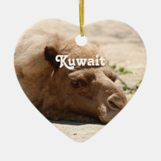 Kuwait Camel Christmas Ornament