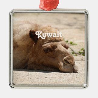 Kuwait Camel Christmas Ornament