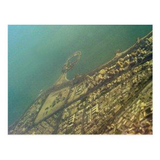 Kuwait city, Green Island, Bird eye view Postcard