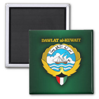 Kuwait Coat of Arms Magnet