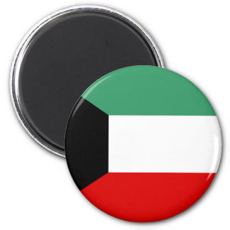 Kuwait country long flag nation symbol republic magnet