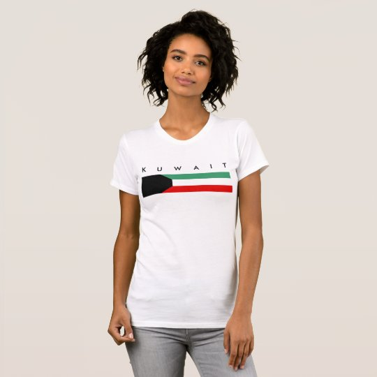 Kuwait country long flag nation symbol republic T-Shirt