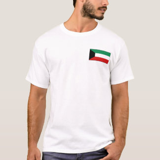 Kuwait Flag and Map T-Shirt