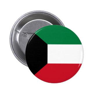 Kuwait Flag Button