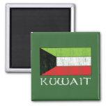 Kuwait Flag Fridge Magnets