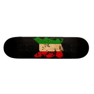 Kuwait Flag Skate Boards