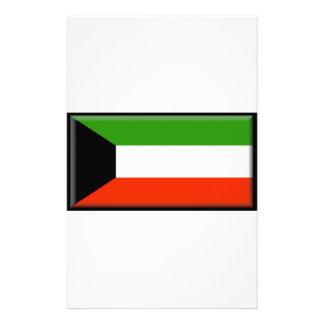 Kuwait Flag Personalized Stationery
