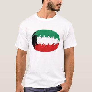 Kuwait Gnarly Flag Kuwait T-Shirt
