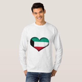 Kuwait Heart Flag T-Shirt