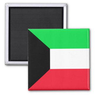 Kuwait High quality Flag Magnet