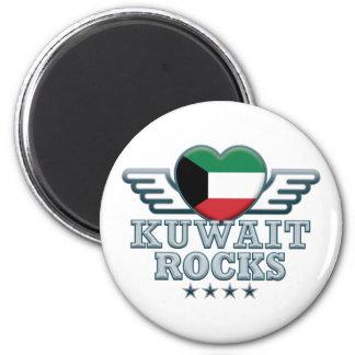 Kuwait Rocks v2 Magnet