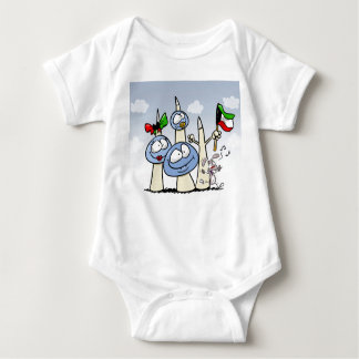 kuwait-T-shirt Baby Bodysuit