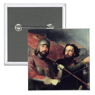 Kuzma Minin & Dmitry Pozharsky's National 15 Cm Square Badge