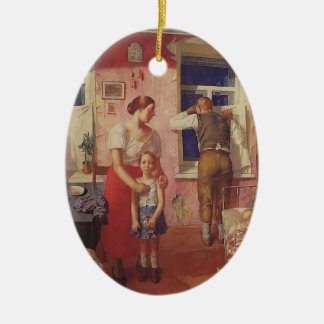 Kuzma Petrov-Vodkin- 1919 Alarm Ornament