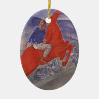 Kuzma Petrov-Vodkin- Fantasy Christmas Ornament