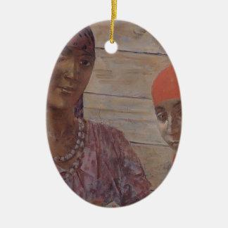 Kuzma Petrov-Vodkin- Gypsy Ornament