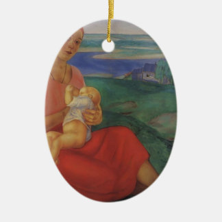Kuzma Petrov-Vodkin- Mother Christmas Ornament