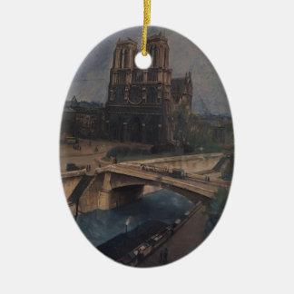 Kuzma Petrov-Vodkin- Paris Notre-Dame Ornament