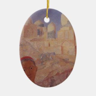 Kuzma Petrov-Vodkin- Shah-i-Zinda Christmas Ornament