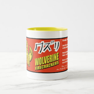 Kuzuri (Wolverine) Firecracker Mug