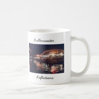 kw-jackrabbit, Rollercoaster, Reflections Basic White Mug