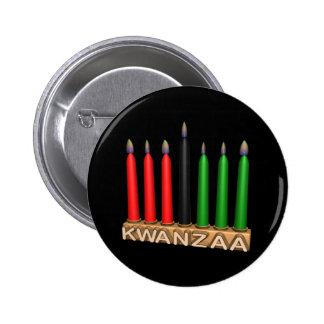 Kwanzaa 6 Cm Round Badge