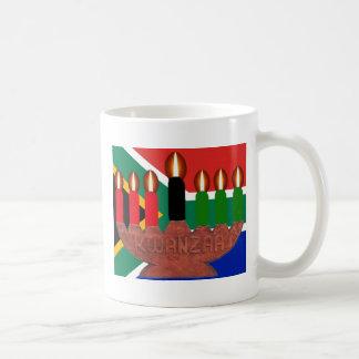 kwanzaa africa basic white mug