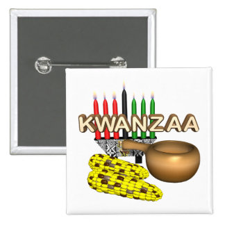 Kwanzaa Pinback Buttons
