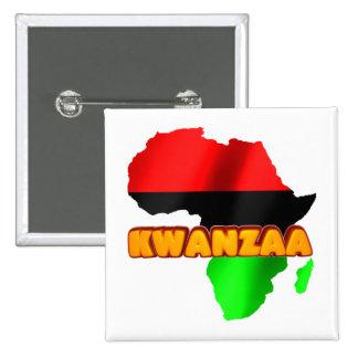 Kwanzaa Pinback Button