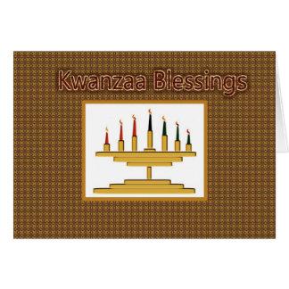 Kwanzaa Blessings Card