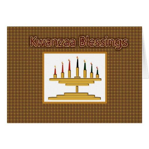 Kwanzaa Blessings Greeting Card