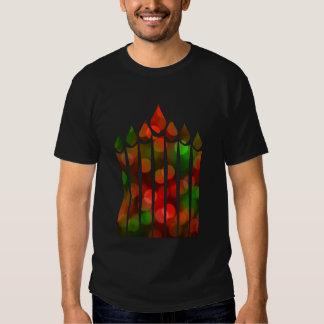 Kwanzaa Bokeh Kinara Shirt